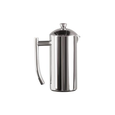 4-Cup Mirror Finish Stainless Steel French Press