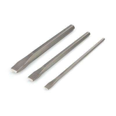Long Cold Chisel Set (1/2, 3/4, 1 in.) 3-Piece