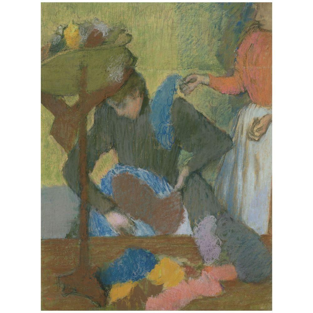 26 in. x 32 in. At the Milliners 1898 Canvas Art