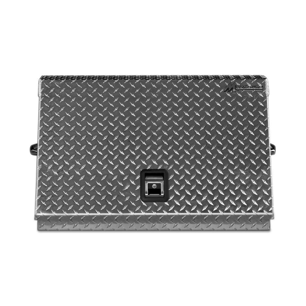 Montezuma 30 inch Portable Tool Chest Aluminum by Montezuma