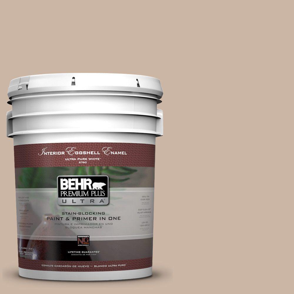 BEHR Premium Plus Ultra 5-gal. #BXC-13 Rustic Rose Eggshell Enamel Interior Paint