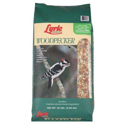 20 lb. Woodpecker No Waste Wild Bird Mix