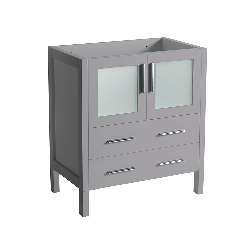 Fresca Torino 30 in. W Modern Bath Vanity Cabinet Only in...