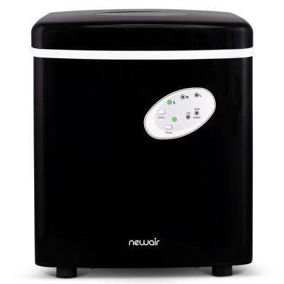 Portable 28 lb. of Ice a Day Countertop Ice Maker BPA Free Parts with 3 Ice Size and Ice Scoop - Black