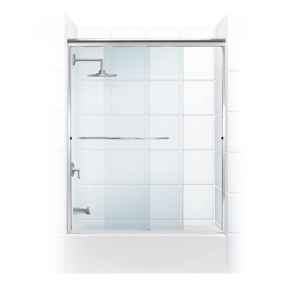 Bathtub doors bathtubs the home depot for Sliding glass doors tub