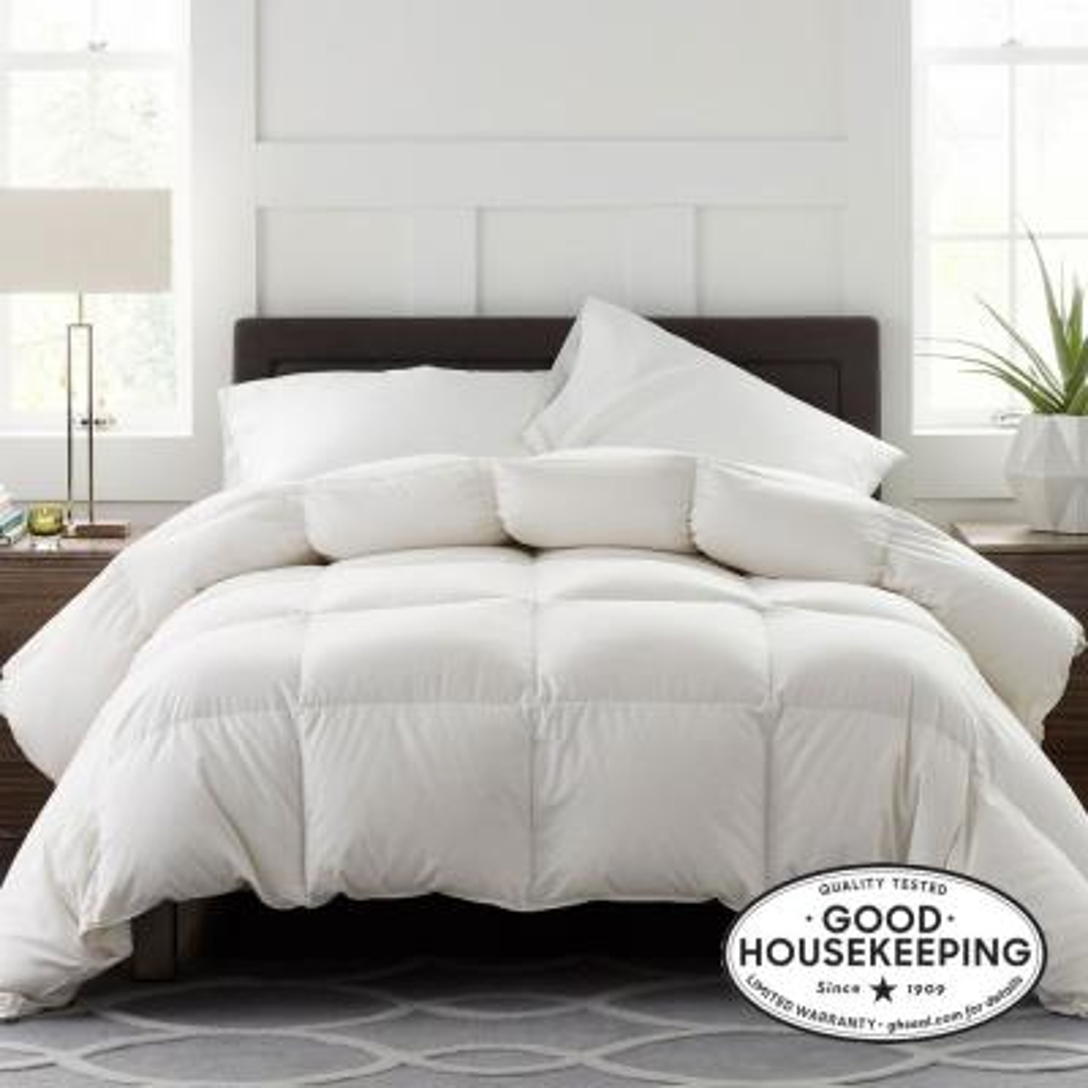 Legends Luxury Geneva Extra Warmth White Queen Oversized Goose Down Comforter