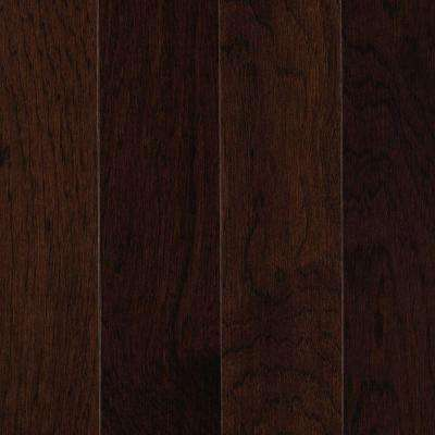Take Home Sample - Portland Gunpowder Hickory Solid Hardwood Flooring - 5 in. x 7 in.