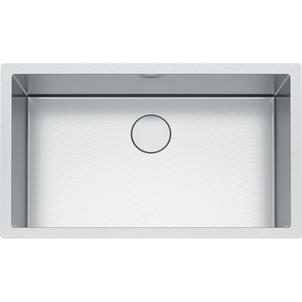 Franke Professional Undermount Stainless Steel 32.5 in. x 19.5 in. Single  Bowl Kitchen Sink