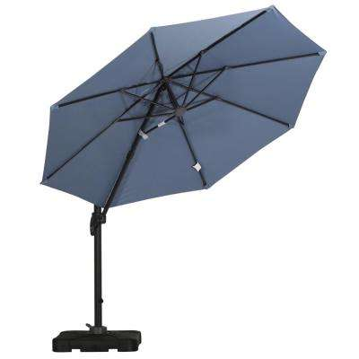 Durango 10 ft. Cantilever Patio Umbrella in Lavander