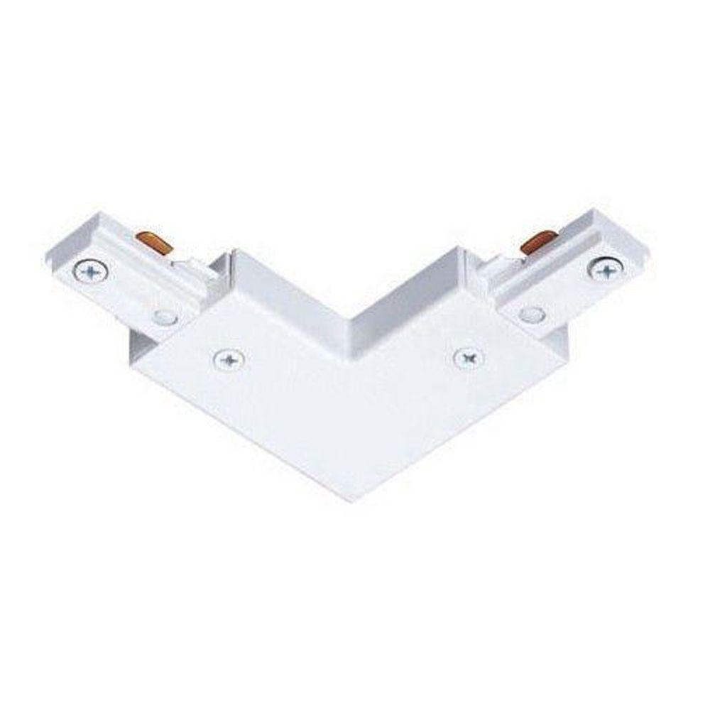 Juno Trac-Lites White Adjustable Connector