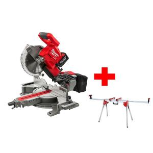 Milwaukee M18 18-Volt FUEL Lithium-Ion Cordless Brushless 10 inch Dual Bevel Sliding Compound Miter Saw Kit by Milwaukee