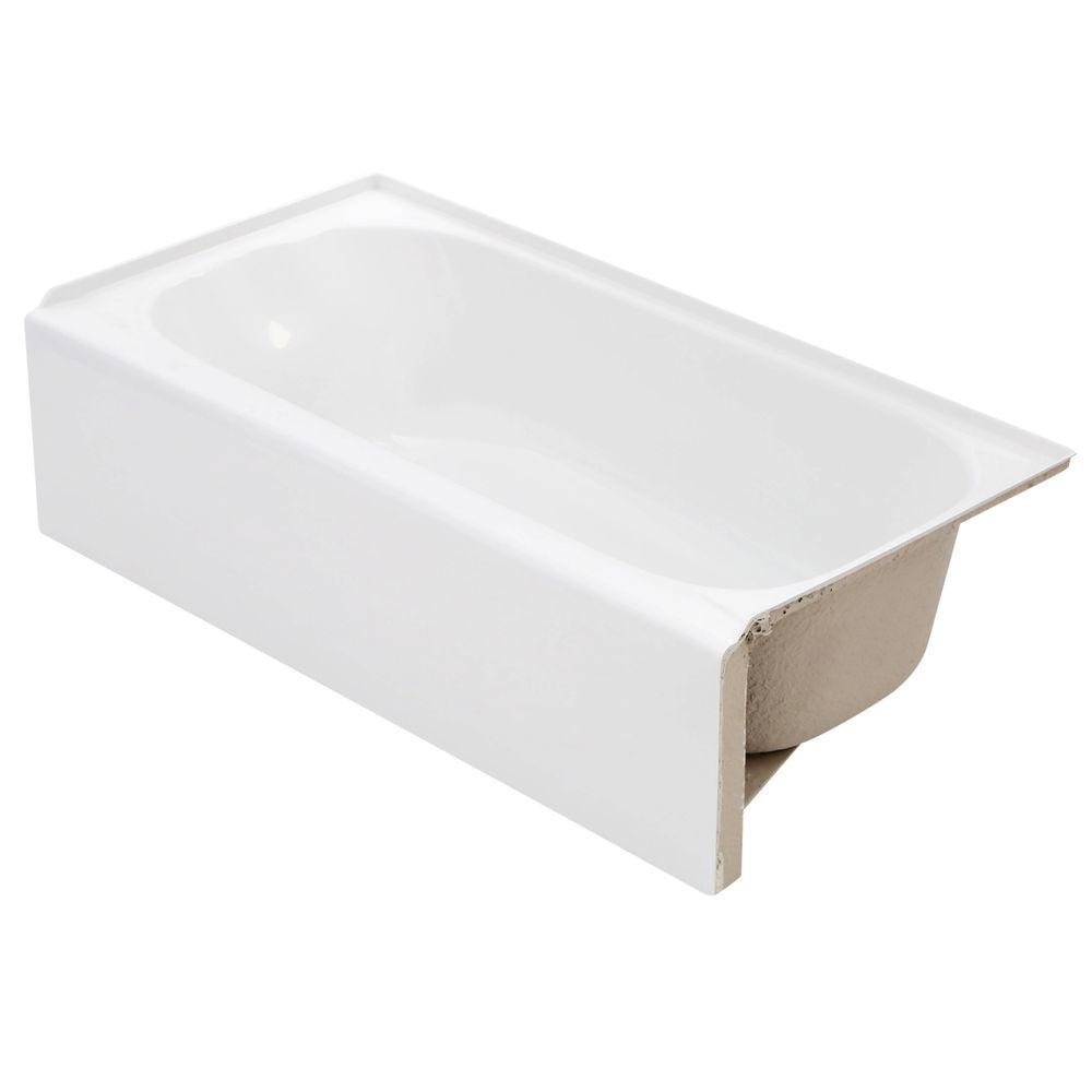 Lyons Industries Victory 4.5 ft. Right Drain Soaking Tub in White