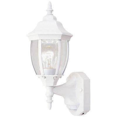Windsor Mill Collection White Outdoor Wall-Mount Lantern