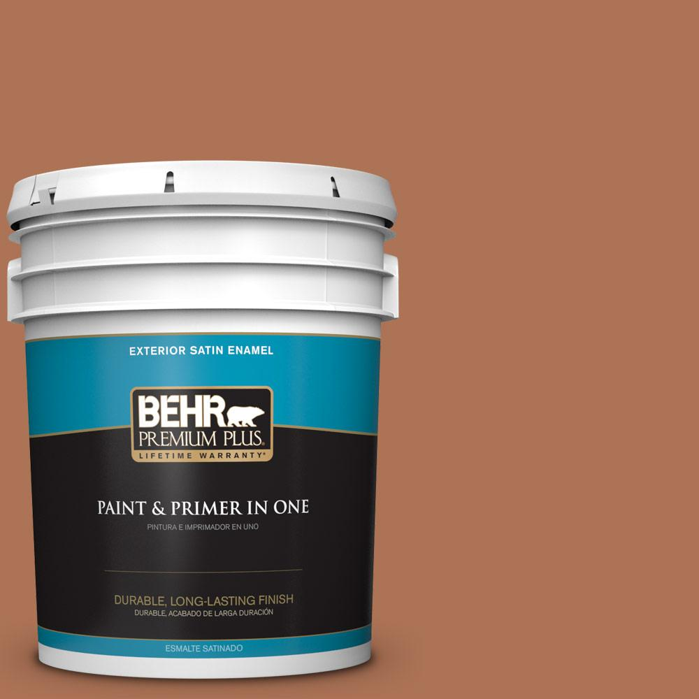 5 gal. #PPU3-15 Glazed Pot Satin Enamel Exterior Paint