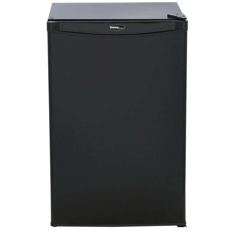 4.44 cu. ft. Mini Refrigerator in Black