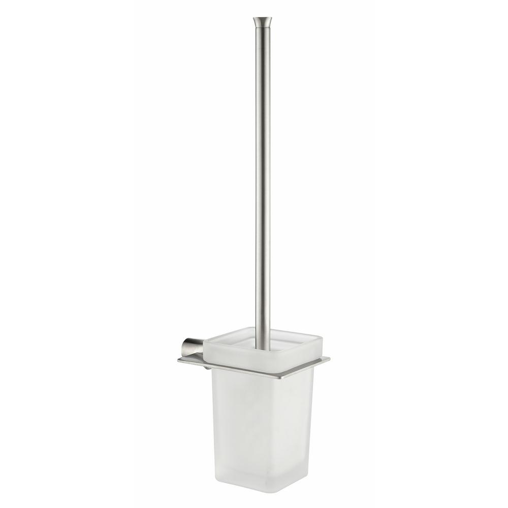 Essence Series Stainless Steel Toilet Brush Holder in Polished Chrome