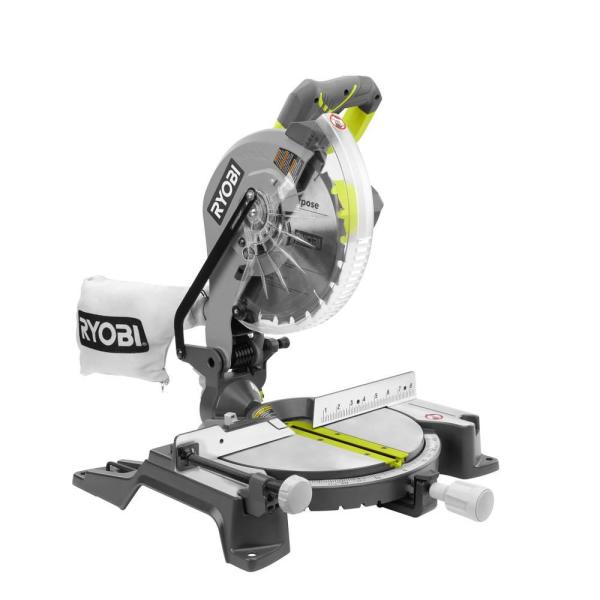 10 in. Compound Miter Saw with LED