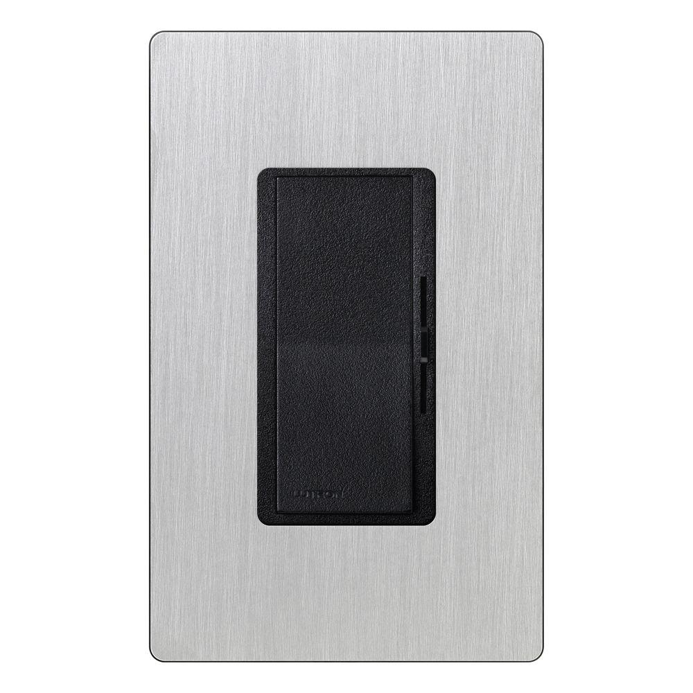 Diva Dimmer for Incandescent and Halogen with Stainless Steel Wallplate,