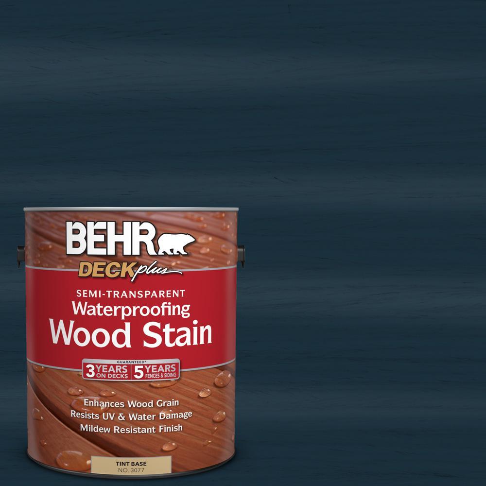 1 gal. #ST-101 Atlantic Semi-Transparent Waterproofing Wood Stain