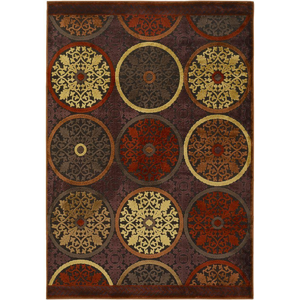 Home Decorators Collection Clay Red 5 ft. 1 in. x 7 ft. 6 in. Area Rug