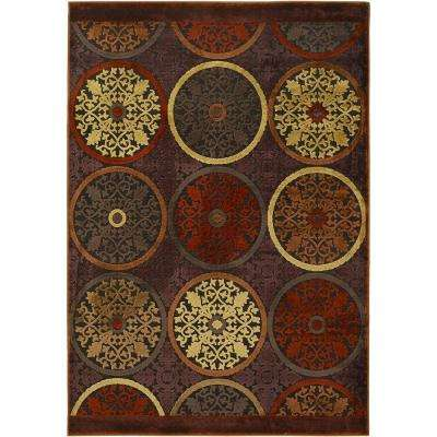 Clay Red 9 ft. x 12 ft. Area Rug