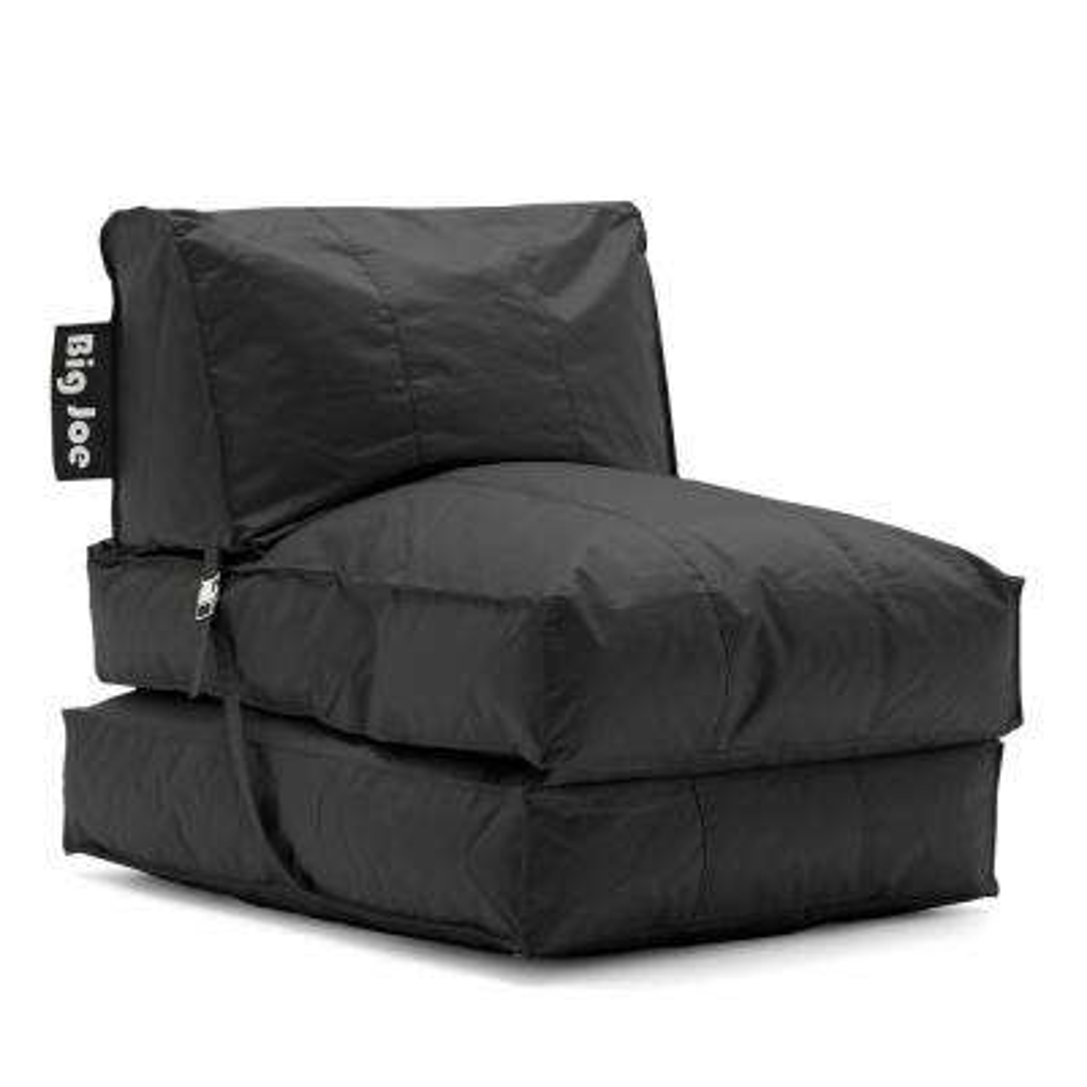 Flip Lounger Stretch Limo Black SmartMax Bean Bag