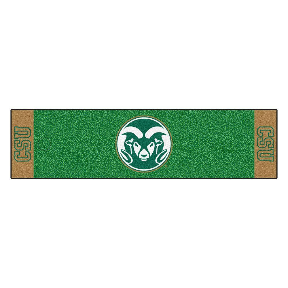 NCAA Colorado State University 1 ft. 6 in. x 6 ft.