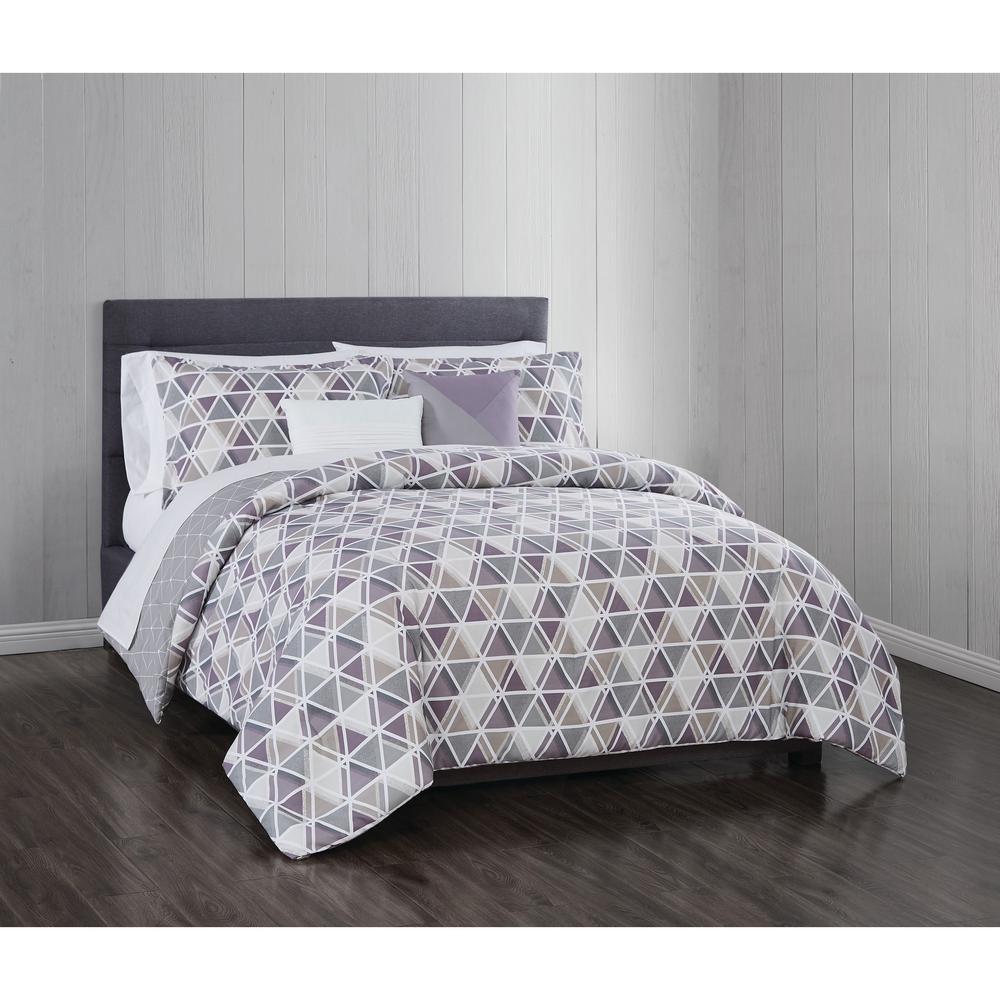 Devon 5 Piece Full/Queen Comforter Set