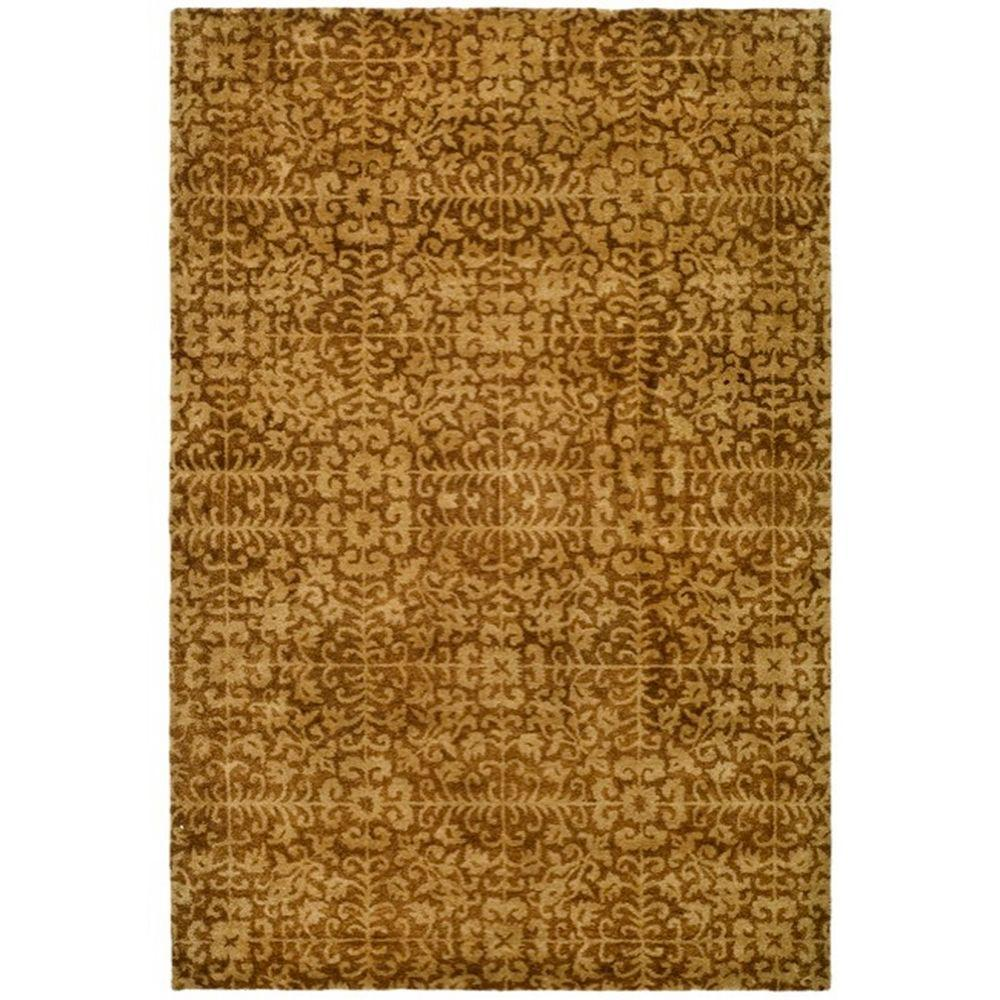 Safavieh Antiquity Gold/Beige 6 ft. x 9 ft. Area Rug