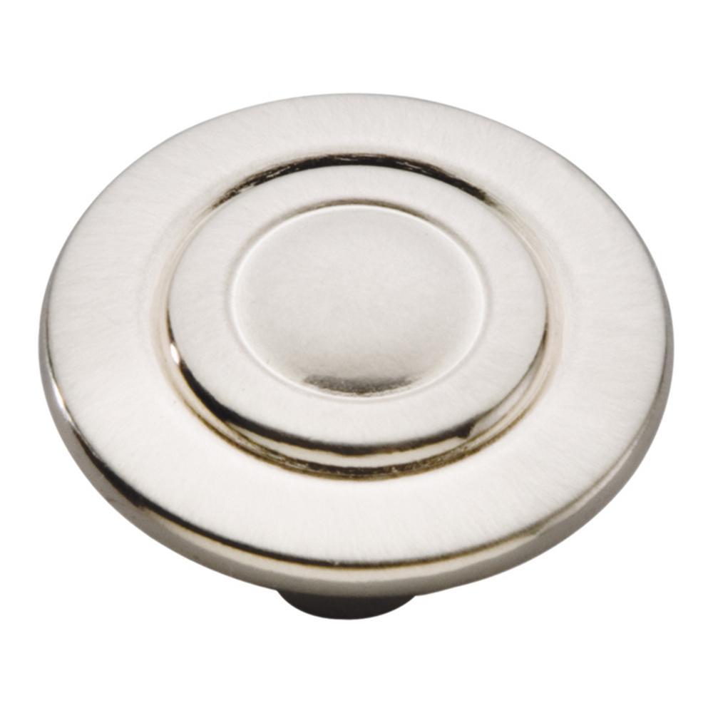 Cavalier 1-1/8 in. Satin Nickel Cabinet Knob
