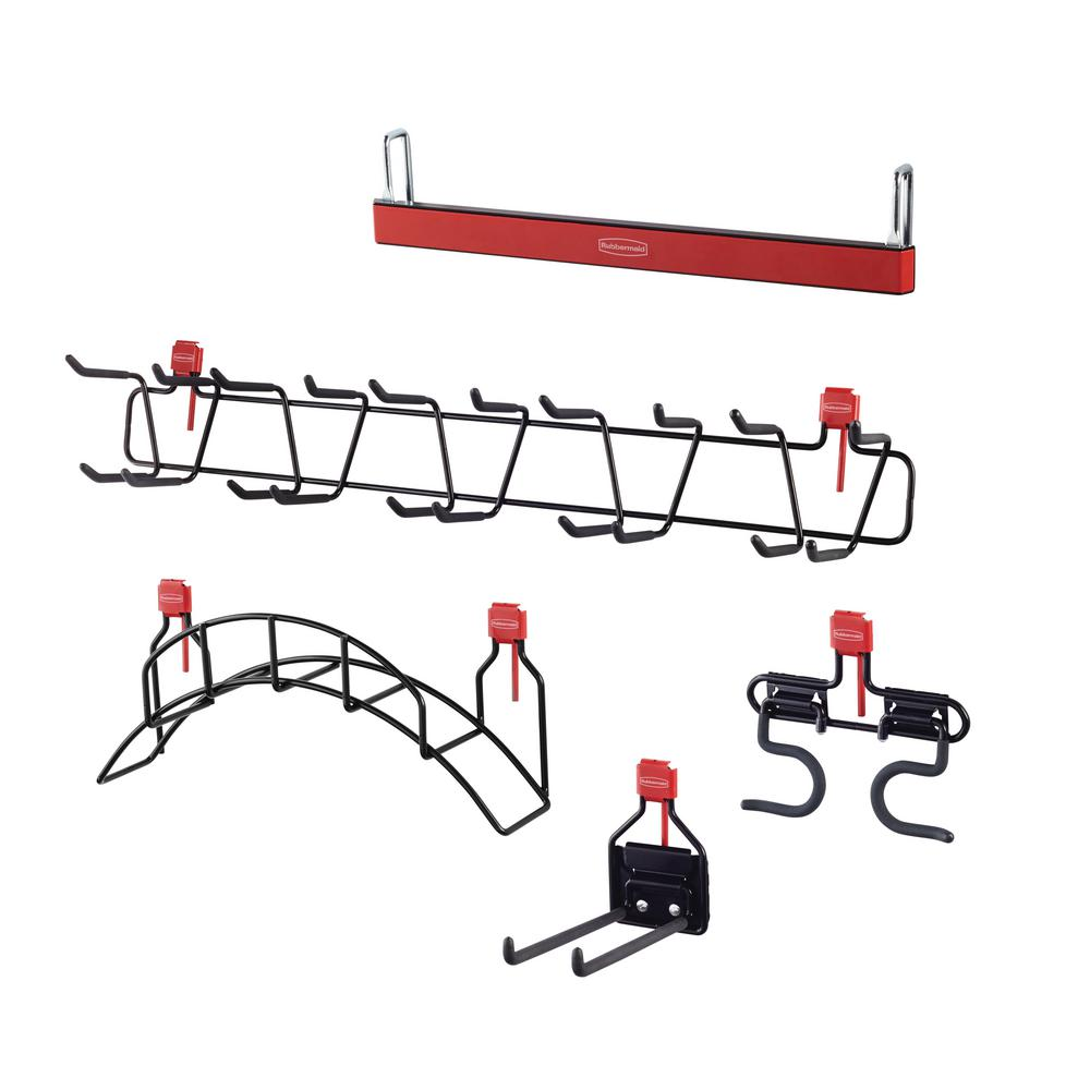 rubbermaid large shed accessory kit-2025630