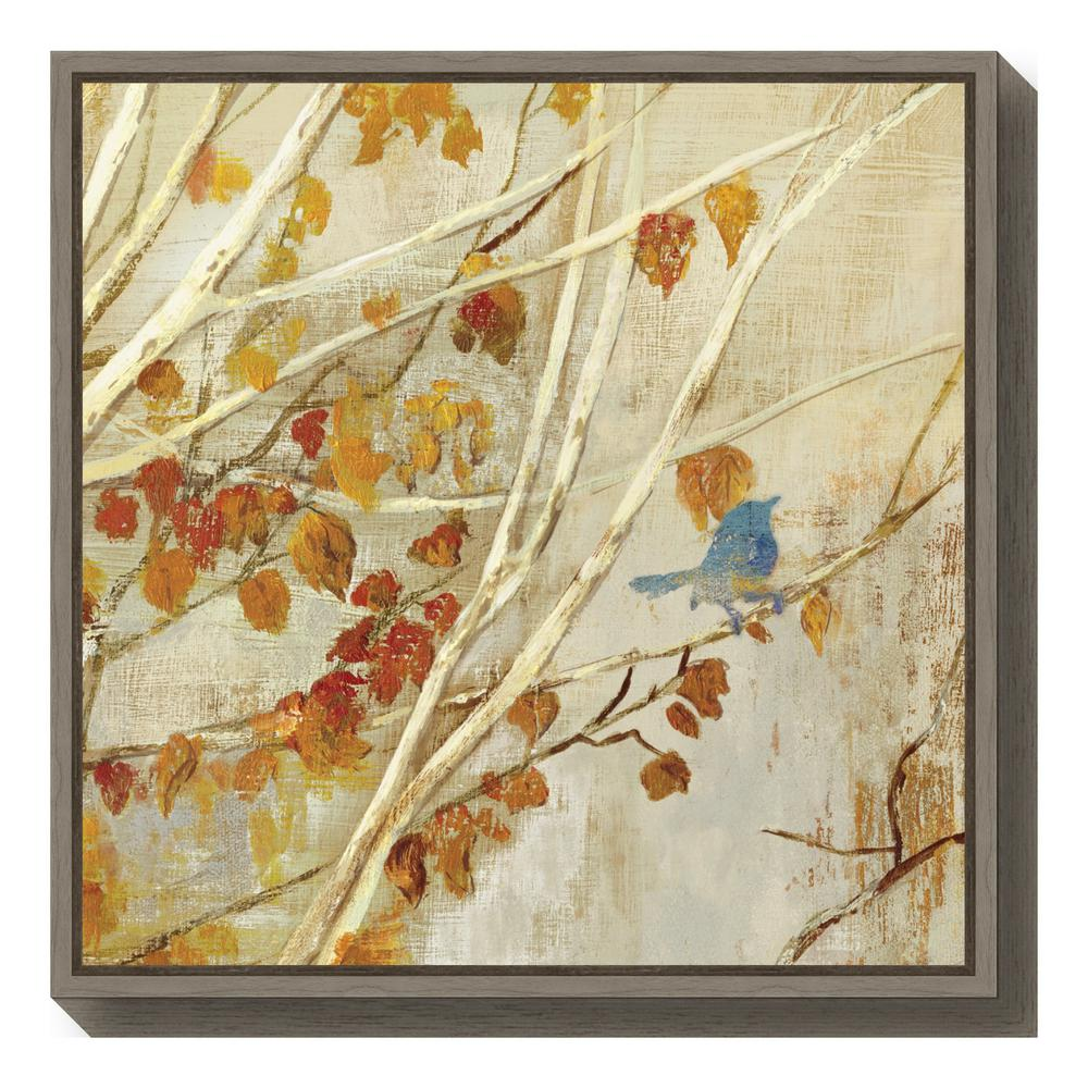 Litton Lane 40 in. Marble-Inspired Framed Canvas Wall Art-52074 ...