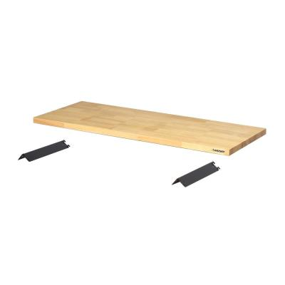 1.25 in. H x 48 in. W x 18 in. D Solid Wood Work Surface
