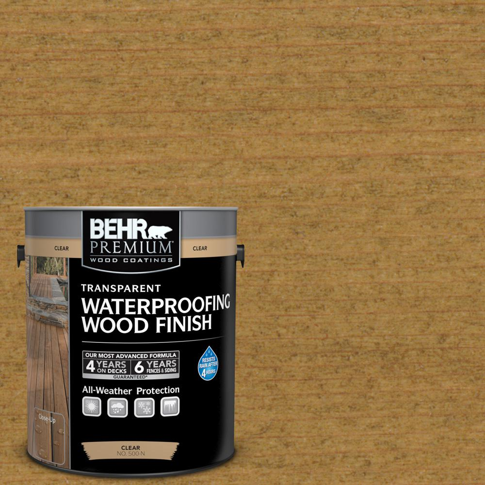 1 gal. #T-171 Antique Oak Transparent Waterproofing Wood Finish