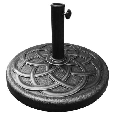 28 lbs. Heavy-Duty Umbrella Base in Black