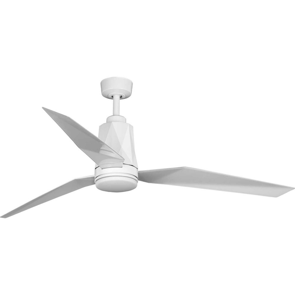 Bixby Collection White Ceiling Fan