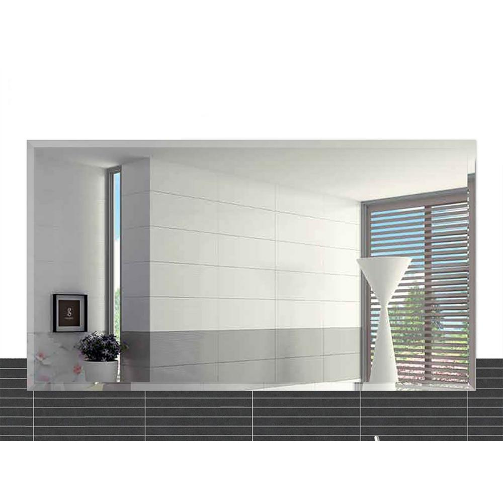 20 in. x 30 in. Rectangle Beveled Polish Frameless Wall Mirror