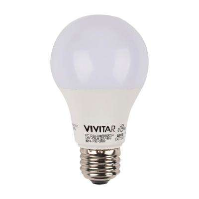 40W Equivalent 450-Lumen A19 Wi-Fi Smart Multi Colored LED Light Bulb