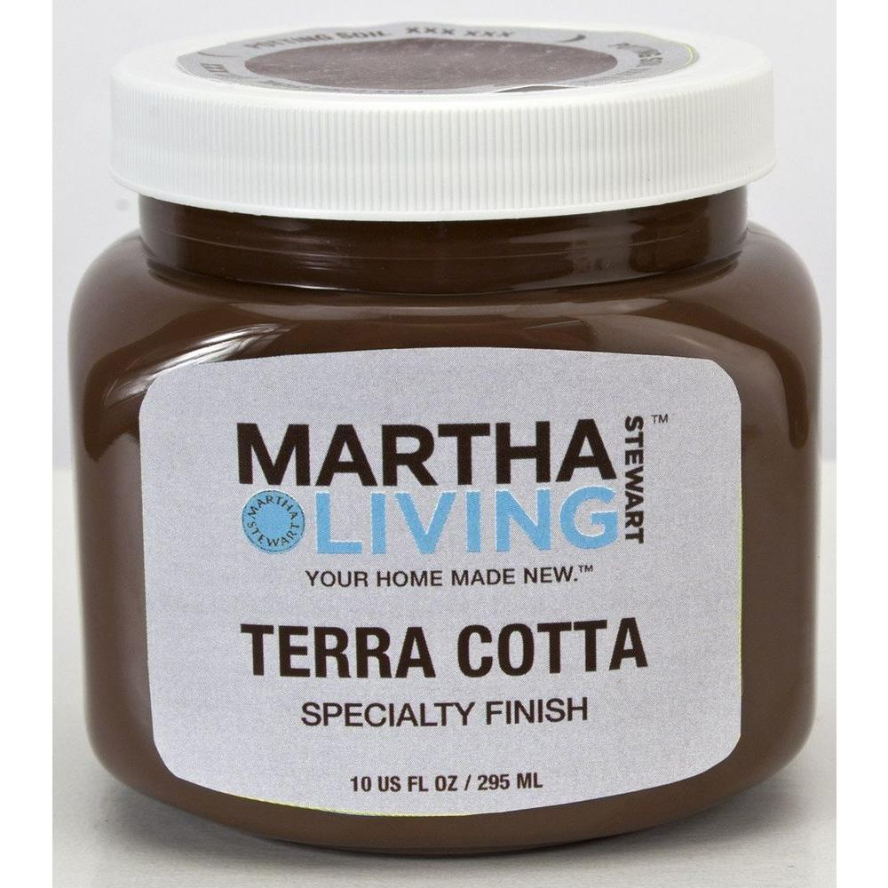 Martha stewart living 10 oz potting soil terra cotta for Soil knife home depot