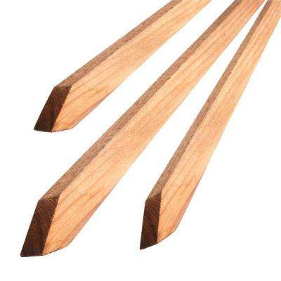 .87 in. x 1 in. x 6 ft. Redwood Tree Stake