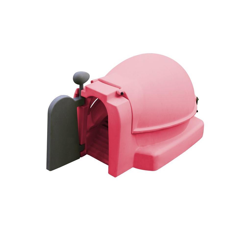 Pink Quad Chicken Coop