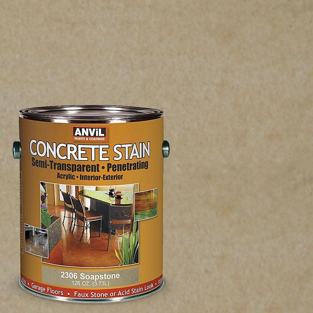 1-gal. Soapstone Semi-Transparent/Translucent Concrete Stain