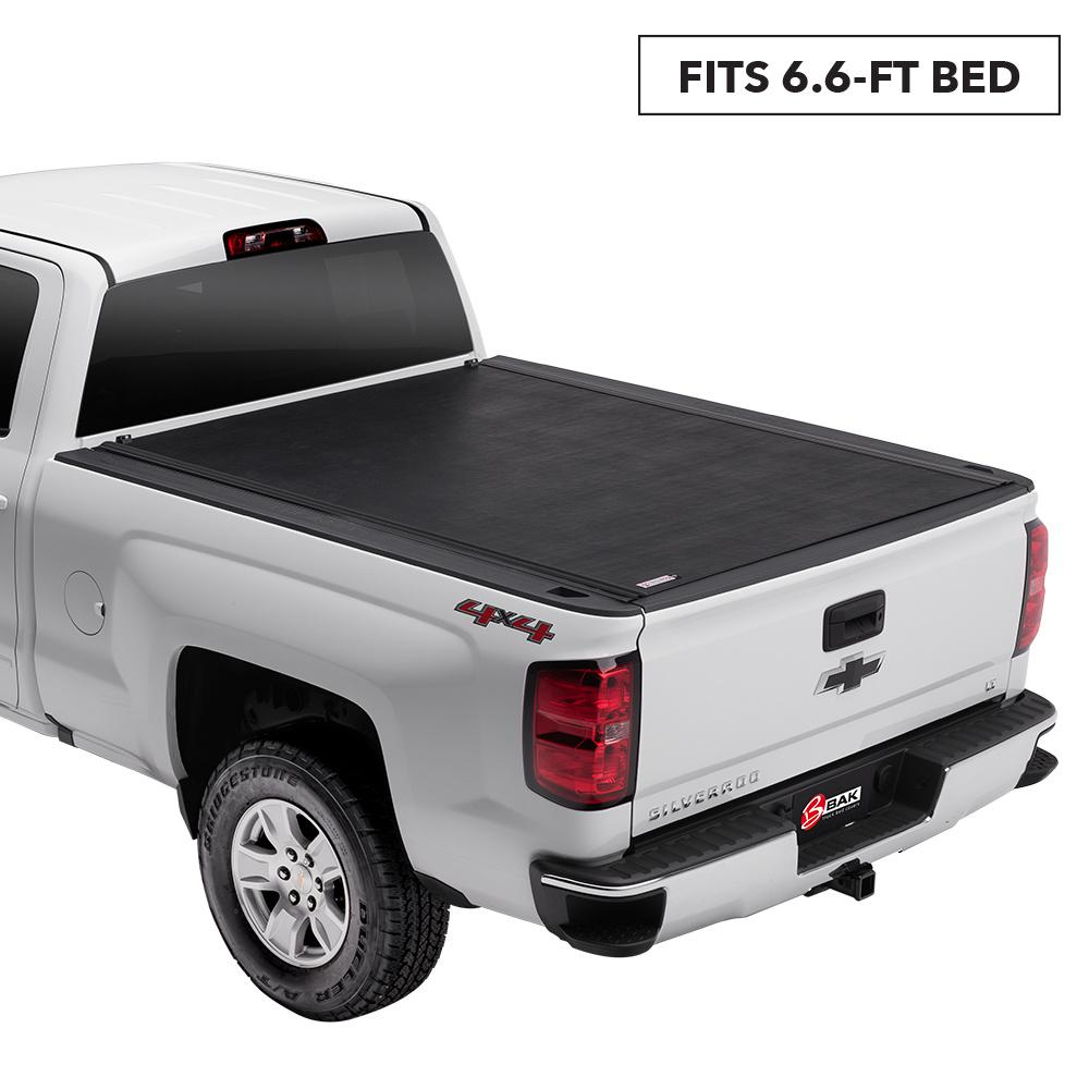 Rolling Truck Bed Covers >> Bak Industries Revolver X2 Tonneau Cover For 88 13 C K Pickup Silv Sierra 1500 88 14 2500hd 3500hd 6 Ft 6 In Bed