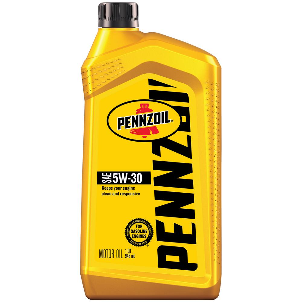 Pennzoil 1 Qt  SAE 5W-30 Conventional Motor Oil