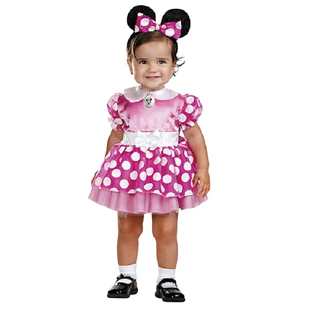 60849e1a8e6 Disguise Disney's Infant Pink Minnie Mouse Costume