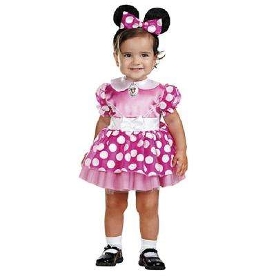 Disney's Infant Pink Minnie Mouse Costume