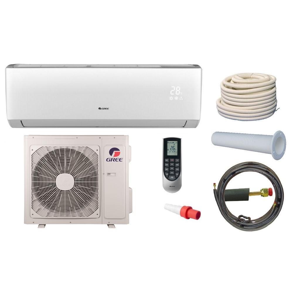 GREE Vireo 22000 BTU Ductless Mini Split Air Conditioner and Heat Pump Kit -230Volt