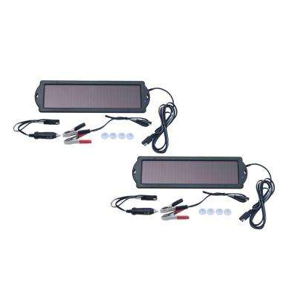 1.5-Watt Solar Panel 12-Volt Battery Maintainer (2-Pack)