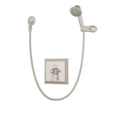 shower head and faucet combo. Canterbury 3 Spray Hand Shower in Satin Nickel  Valve Included Flood Showerhead Faucet Combos Showerheads Faucets