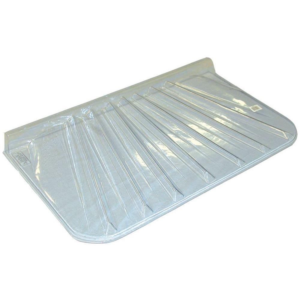 44 x 12 in Clear Window Well Basement Heavy Duty Egress Plastic Cover Hardware